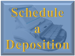 Schedule a hearing or deposition now